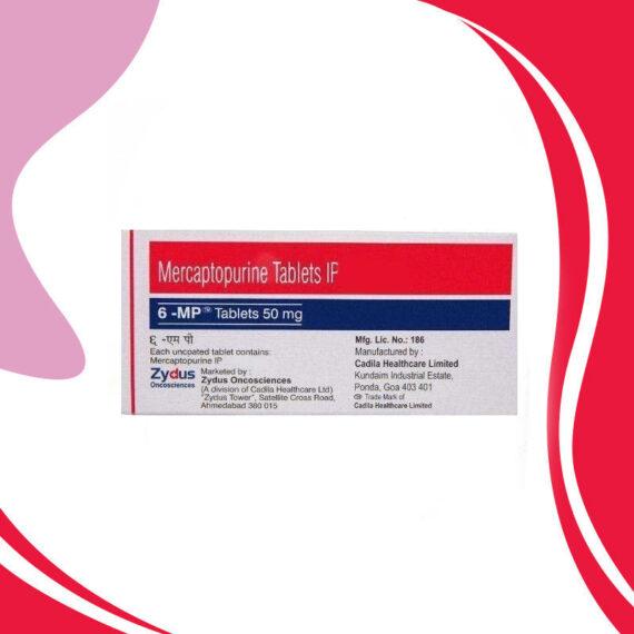 6MP 50MG 100TAB. Меркаптопурин. Противораковая терапия. Индия