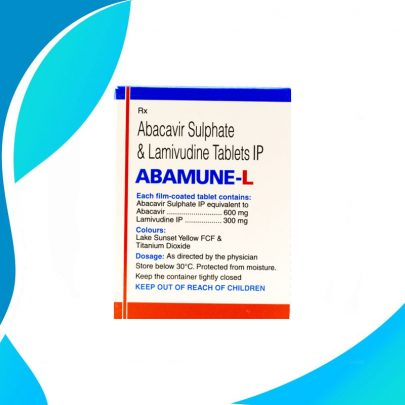 ABAMUNE-L (Абакавир + Ламивудин) 600 мг + 300 мг Индия Cipla Ltd