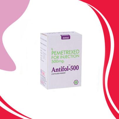 ANTIFOL 500MG Пеметрексед. Лечение рака легкого. Индия
