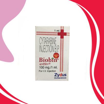 BIOBIN 1G 10ML. Цитарабин. Противораковая терапия. Индия