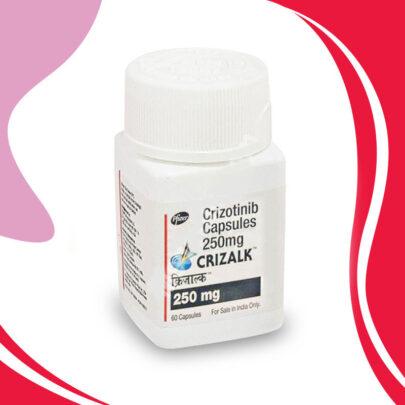 CRIZALK 250MG 60 TAB. Распространенный немелкоклеточный рак лёгких