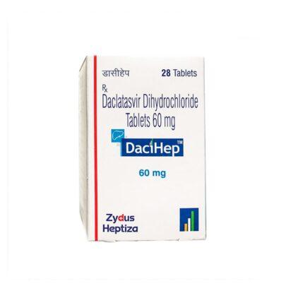 DACIHEP 60 MG 28 TAB - Лечение Гепатита C всех Генотипов. ИНДИЯ