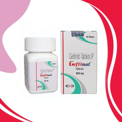GEFTINAT 250 MG 30 TAB. Для борьбы с метастазами и лечения рака легкого