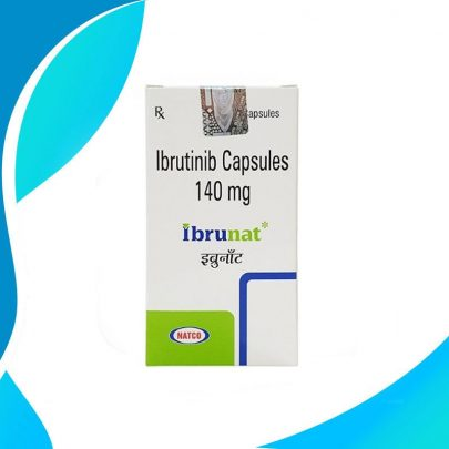IBRUNAT 140MG 30CAPS. Ибрутиниб. Противораковая терапия. Индия