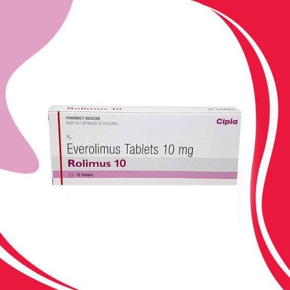 ROLIMUS 10MG 10CAPS. Эверолимус. Противораковая терапия. Индия