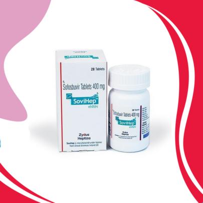 SOVIHEP 400 MG - Лечение Гепатита C всех Генотипов. ИНДИЯ