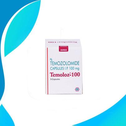 TEMOLOZ  100MG 5TAB. Темозоломид. Средство терапии рака.  Индия
