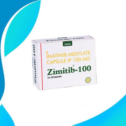 ZIMITIB 100MG 30TAB Иматиниб. Противоопухолевый препарат. Индия